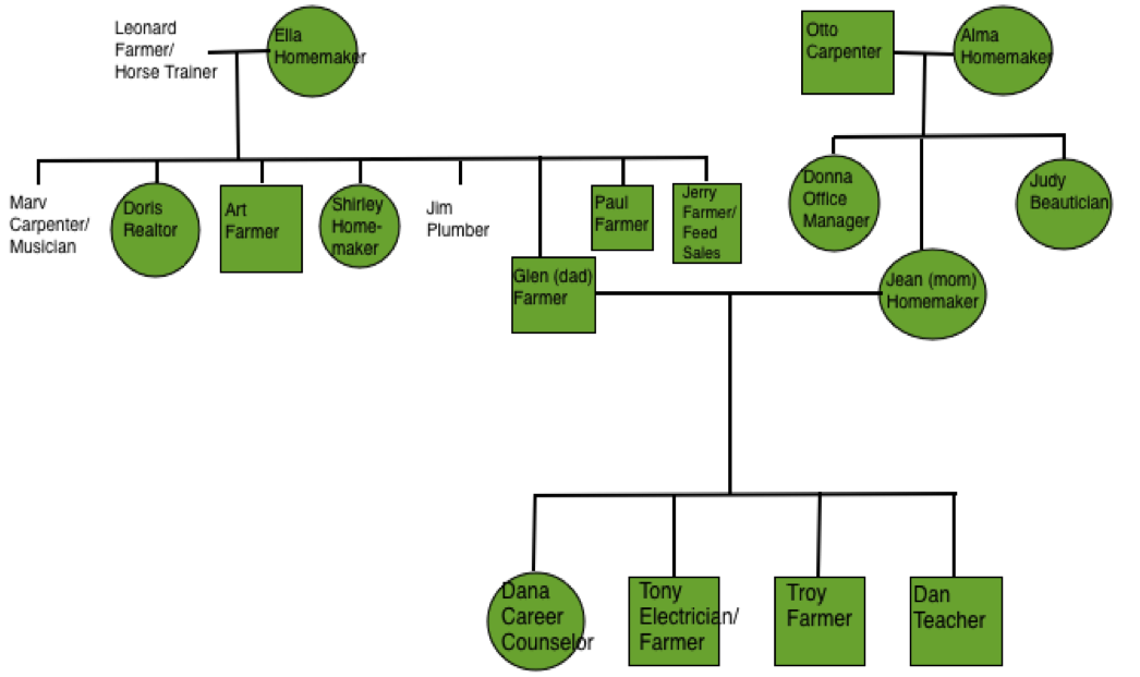 genogram family and future professional endeavors Students and professionals require the representation of the information in the form of a family tree for establishing a hierarchical relation between the data genogram template provides numerous benefits to the academicians and business professional.